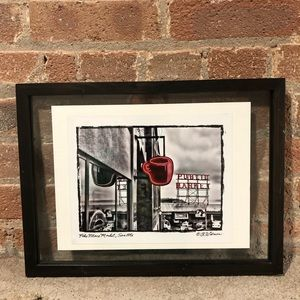 Seattle Pike Place Market Framed Print